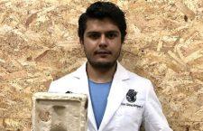 Científico mexicano crea material que sustituye al unicel