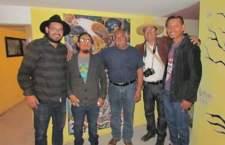 Iluminarte expone pinturas en Tejúpam de la Unión