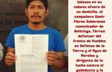 """Líder opositor de termoeléctrica es ejecutado frente a su casa, en Morelos; """"es un crimen vil"""": AMLO"""