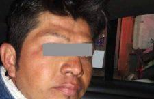 Rafael rocía tíner a su esposa y le prende fuego en Ecatepec, Edomex; policías lo detienen