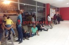 Aseguran a 37 indocumentados en Nochixtlán; había menores