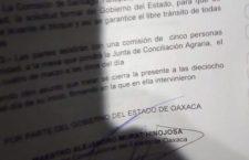 Horas de discusiones y aún no logra @GobOax acuerdos firmes entre Juquila y Yaitepec; regresan el lunes