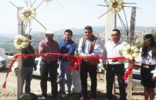 Inauguran red de agua potable en Cañada San José