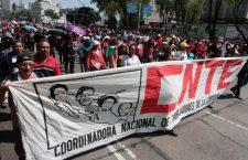 Sección 22 alista marcha contra reforma educativa en la CDMX