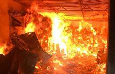 Cuatro hondureños indiciados por incendio en garita de Tapanatepec