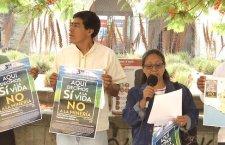 """Pueblos de Oaxaca: """"Aquí decimos sí a la vida, no a la minería"""""""