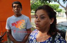 Salvador y Norma, abuelos de la menor.
