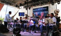 Celebran el 126 aniversario de banda Brisas de Oro de la Trinidad Huaxtepec
