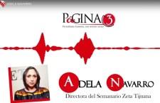 """""""Preocupante que el presidente se reconcilió con la mafia del poder"""", Adela Navarro"""