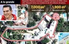 Edifica su mansión; no prueba ingresos aspirante a presidente nacional del PRI