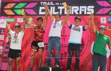 Jael Morales y José Gregorio, los ganadores del Trail de las Culturas