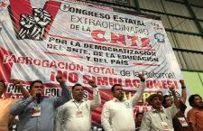 Rechaza CNTE en Oaxaca control de plazas docentes