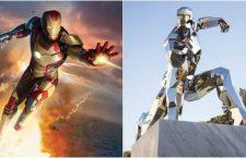 Iron Man es homenajeado en la vida real con una estatua ubicada en una localidad de Italia
