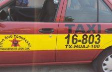 Abandonan a conductor cerca de Yodoyuxi; le robaron la cuenta y el taxi