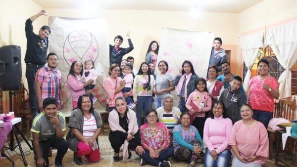 Conmemora Lazos de amor, el Día Internacional contra el Cáncer de Mama