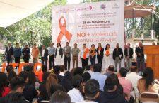 Erradicación de la violencia hacia la mujer, es tarea de todos: Sindico