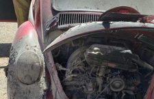 Arde motor de «vocho» en Huajuapan | Informativo 6 y 7