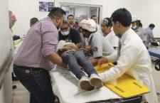 Atiende Red de Servicios de Salud aaccidentados de San Pablo Huitzo