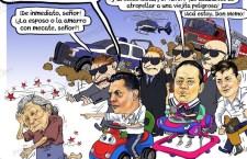 Salcedo y el abuso de poder en un incidente de tránsito, ¿lo van a cesar?…¡Y la delincuencia desatada en Oaxaca!
