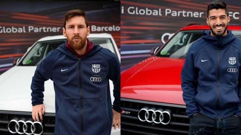 Barcelona rompe contrato com a Audi e jogadores terão que devolver seus carros