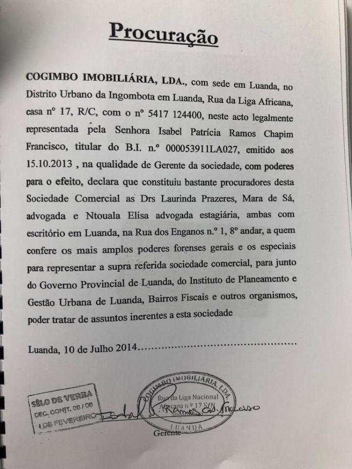 Secretaria de Estado ligada aos negócios do Juiz