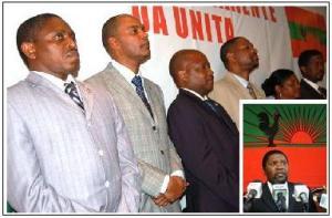 liderança da unita