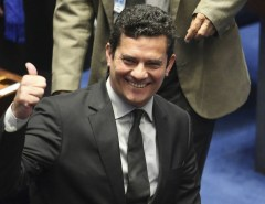 Sérgio Moro chega ao Senado