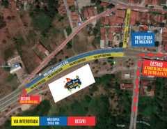 Prefeitura de Macaíba altera fluxo de vias para Festa de São João