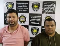 Polícia Civil prende suspeitos de praticar diversos furtos de aparelhos celulares em shoppings de Natal