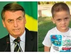 Presidente Jair Bolsonaro comenta caso Rhuan e lamenta não ter prisão perpétua no Brasil