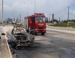 Em 2019, Bombeiros já combateram 74 incêndios em veículos em Natal e região.
