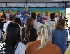 Grande inauguração é realizada em Novo Alecrim, região industrial de Macaíba: 10 ruas pavimentadas