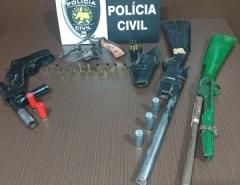 Polícia Civil prende homem por posse ilegal de arma de fogo em Macaíba