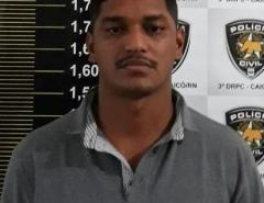 Polícia prende chefe de facção criminosa atuante em São Gonçalo do Amarante