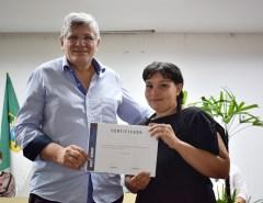 Prefeitura entrega cerca de 300 certificados do Capacita Macaíba