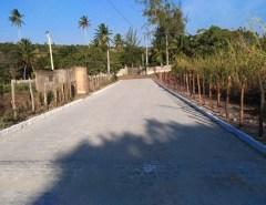 Macaíba: Pavimentação de principal rua de Canabrava será inaugurada nesta quarta (18)