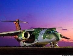 FAB recebe 1ª unidade do maior avião feito pela Embraer no Brasil nesta quarta-feira