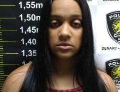 Jovem é presa em Parnamirim com arma, drogas, carro de luxo e moeda estrangeira