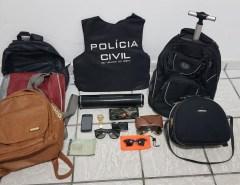 Operação 'Surf Seguro': Polícia Civil prende três suspeitos de roubos em praias da Grande Natal