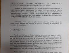 Deputado José Dias cobra explicações de Fátima Bezerra