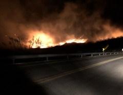 Incêndio atinge região de mata na cidade de Acari, RN