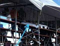 Lamentável: Homem morre na arquibancada e vaquejada segue no Parque Arapuá, em Santo Antônio