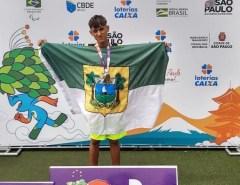 Da Vila Olímpica de Macaíba ao pódio do Centro de Treinamento Paralímpico de São Paulo: Atletas da terra ganham medalhas em competição nacional
