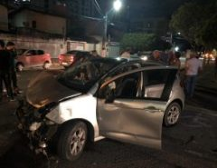 Em Natal, perseguição da polícia à quadrilha de assaltantes resulta em acidente em Capim Macio