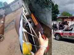 Facção reage contra execução de traficante e aterroriza bairro de JP