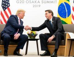 "Presidente Jair Bolsonaro: ""Tenho quase certeza de que Trump vai nos atender"""