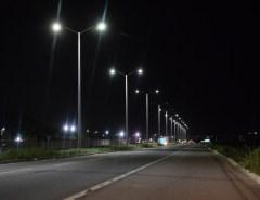 Parceria entre Prefeitura de Macaíba e DNIT resulta na iluminação de importante trecho de BR do município