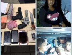 Bandidos são presos em Natal após tomar carro de assalto