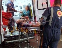 Homem é esfaqueado no centro de Mossoró durante tentativa de assalto