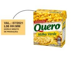 Dono da marca 'Quero' faz recall de 244 caixas de milho verde após presença de bactérias
